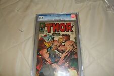 Thor #126 CGC 8.0 1st Issue! 1966 Journey Into Mystery #83 Avengers! E6 914 cm