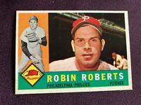 1960 Topps Robin Roberts HOF #264 Phila. Phillies