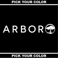"24"" 2FT Arbor Collective Vinyl Sticker/Decal *Skateboard*Snowboard*Splitboard*"