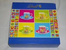Espresso Tassen Set von Lindt-NEU