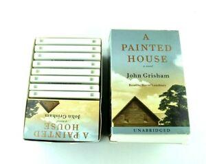 A Painted House John Grisham Unabridged 8 pc Audiobook Audio Book Cassette Tapes