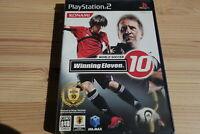 PS2 Playstation2 World Soccer Winning Eleven 10 SLPM-66374 game soft KONAMI