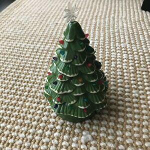 """American Girl Julie's retro ceramic light up Christmas tree for 18"""" dolls NEW"""