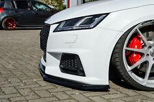 Sonderaktion Frontspoiler Splitter aus ABS für Audi TT TTS 8S S-Line mit ABE