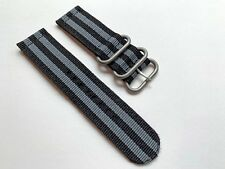 24mm Ballistic Nylon Two-Piece Military G10 James Bond 007 Watch Band Strap NEW