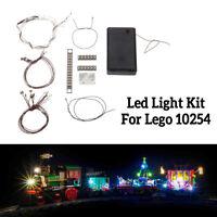 5V LED Lichterkette Teil für Lego 10254 Creator Weihnachten Winterurlaub Zug