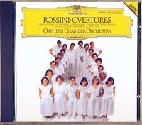 DGG Rossini ORPHEUS CHAMBER ORCHESTRA Overtures (CD, 1985, W. GERMANY) 415 363-2