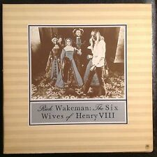 Rick Wakeman Six Wives Of Henry The VIII Vinyl LP Original Press Yes Synths Prog