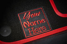 Personalised/Customised Car Mats - Universal Fit - Colour & Logo Choices!