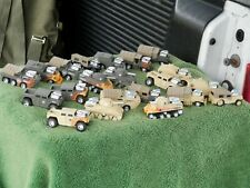 Muscle Machines Military Vehicles Lot Of 21 Estate Find