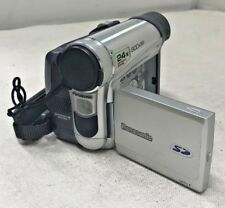 Panasonic PV-GS15 Camcorder Untested *For Parts Only* As Is - Silver