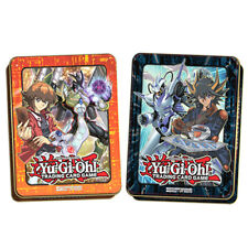 YUGIOh! 2018 Mega-Tin Mega Pack (TCG-ENGLISH)- Both tins Jaden & Yusei
