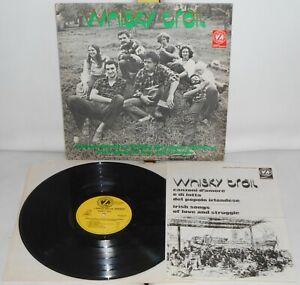 LP WHISKY TRAIL Canzoni d'amore e (Dischi Zodiaco 76)Italian Celtic folk book NM