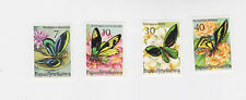 papua.N.Guinea 1975 Sc 415/8,butterfly,set MNH     m1297