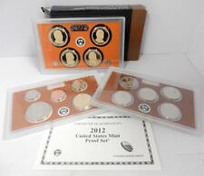2012 Proof Set, Complete, Original Box with COA, Key Date Set   #G7