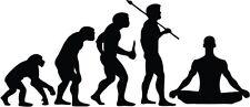 "MEDIATION EVOLUTION Vinyl Decal Sticker-6"" Wide White Color"