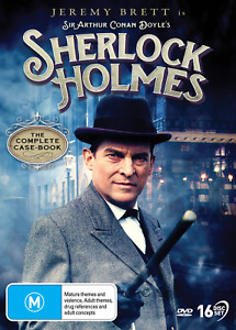 Sherlock Holmes - Complete Collection DVD (16 Disc) New/Sealed Region 4