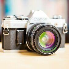 Canon AT-1 + Grand Angle 28mm f/2.8 Makinon FD + Pile Neuve AT1 ! Super Offre !