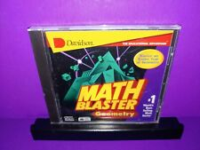 Davidson Math Blaster Geometry Pc Cd Rom Windows/Mac Brand New B459