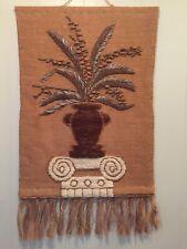 Vintage Jute Tapestry