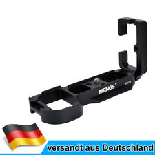 MENGS A7/A7R L Bracket Schnellwechselplatte Aluminium für Sony A7/A7R Kamera