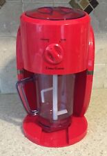 Frozen Drink Machine Smoothie Margarita Maker Shaved Ice Slushie Beverage red