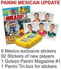 PANINI MEXICO UPDATE SET STICKERS STAMP WORLD CUP 18 RUSSIA 2018 MEXICAN EDITION