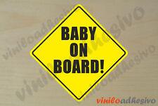 PEGATINA STICKER VINILO Bebe a bordo ref3 Baby on board autocollant aufkleber