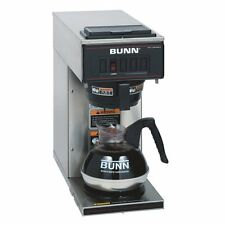 Bunn Vp17-1 Coffee Brewer - 1600 W - 2 Quart - 12 Cup[s] - No - Stainless Steel,