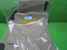 Hyundai Accent  2006 - 2016  4 pc  floor mats OEM beige 06 07 08 09 10 11 12 13