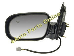 SIDE VIEW MIRROR 99-05 TRANSPORT SILHOULETTE MONTANA LH