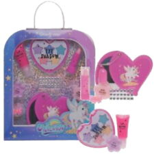 Kinder UNICORN Beauty Kosmetik Make-up Schminke SET 12 teilig (43)