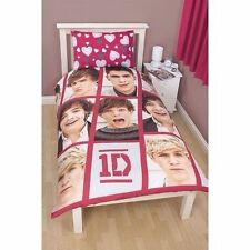ONE DIRECTION - 1D - BOYFRIEND SINGLE REVERSIBLE DUVET QUILT SET - BNIP