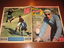 LO SPORT ILLUSTRATO GAZZETTA 1953/11 FAUSTO COPPI NOVARA LEGNANO SAMPDORIA INTER