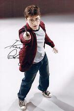 Daniel RADCLIFFE Signed 12 x 8 Photo AFTAL COA Harry Potter