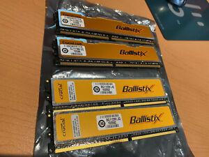 Crucial BallistiX BL12864AA80A 4GB (4x1GB) PC2-6400 DDR2 800 240-Pin Desktop RAM