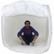DynaSun PB01 150cm Tenda Luce Cubo Softbox Diffusore Semirigido con 4x Fondali