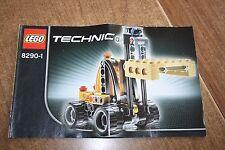Lego Technik Mini-Gabelstapler / Dragster (8290), 2-in-1 Modell, ohne OVP