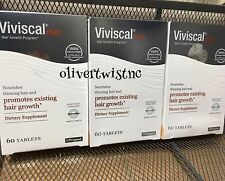 Viviscal Man 3 boxes x 60 = 180 Tablets 3 Month Supply Exp 1/19 Men Hair growth