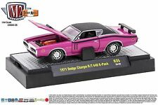 1:64 M2 Machines Detroit Muscle R35 = Purple 1971 Dodge Charger R/T 440 *NIB*