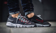 NIKE AIR FOOTSCAPE NM New Motion Trainers Gym Casual - UK 8.5 (EUR 43) Black