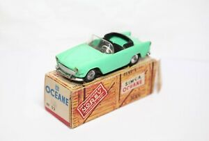 Norev Simca Oceane Convertible In Its Original Box - Excellent Vintage Original