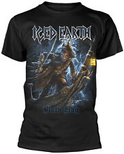 ICED EARTH Black Flag T-SHIRT OFFICIAL MERCHANDISE