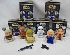 "5 Star Wars 3"" Vinylmation Figures W/ Boxes"