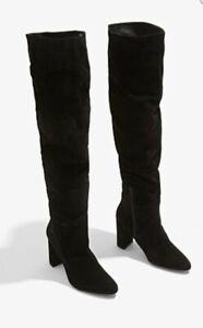 COUNTRY ROAD | Viola Slouch Boot SIZE 42 EU | Black Suede BRAND NEW | RRP$349