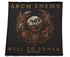 ARCH ENEMY - Patch Aufnäher - Will to power 10x10cm