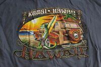 Kimo Kauia Hawaii Back Panel TEE T SHIRT XL Extra Large