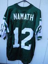"NFL NEW YORK JETS JOE""WILLIE"" NAMATH #12 OLD SCHOOL JERSEY SIZE LARGE BY ADIDAS"
