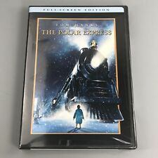 The Polar Express (Dvd, 2005) Full Screen Edition - New Sealed Free Shipping!