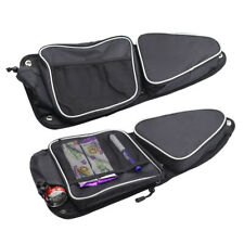 Passenger Driver Door Bags w/Knee Pad for Polaris RZR XP 1000 900XC S900 2014-18